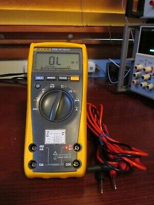 Fluke 77 Iv Digital Multimeter Passes Fluke Performance Verification 77-4