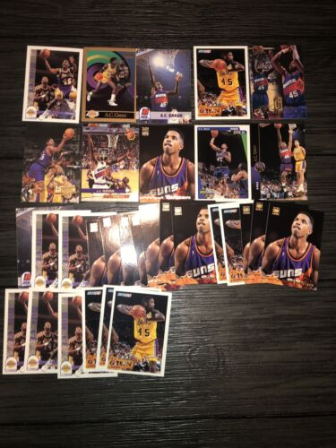 A.C. Green Lot Of 31 Lakers, Suns, Mavericks 10 Different Cards Base - $3.00