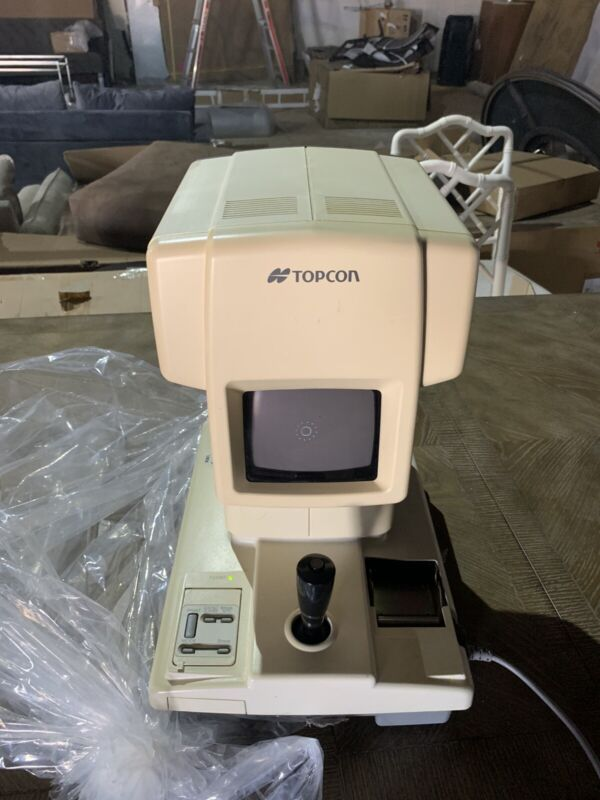 KR7000P Topcon Autorefractor Keratometer USED And In Working Condition