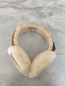 Like New UGG Sheepskin Ear Muffs