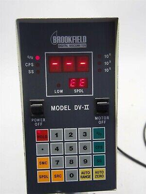 Brookfield Dv-ii Digital Viscometer Rvtdv-iicp