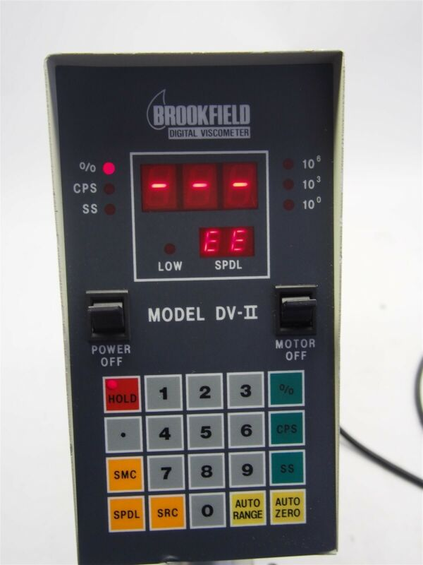 BrookField DV-II Digital Viscometer RVTDV-IICP