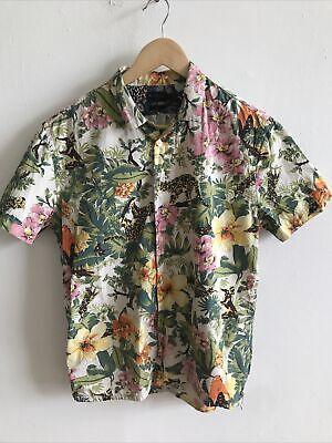 Mens Paul Smith shirt great condition medium Tropical Hawaiian Animals
