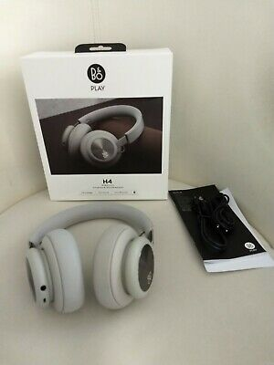 Bang and Olufsen B & O Play wireless H4 Headphones / Vapour Color (Lt Grey) RARE
