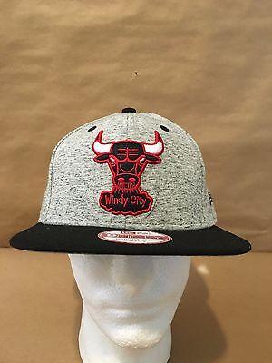 81a23654d676c New Era 9FIFTY Chicago Bulls Team Rogue OSFA Snapback Original Fit  Grey Blk Red