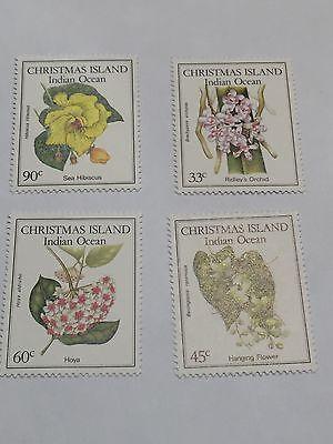 Christmas Island   #183-186 MNH (1163B)