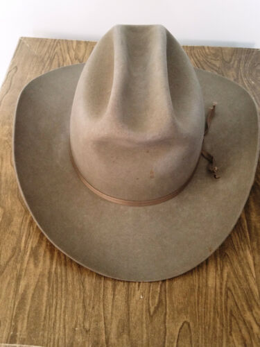 Vintage Resistol BR Westerns 20 Self Conforming Cowboy Hat 7 5/8 w/Box