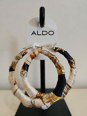 Hoop earrings Versace Style