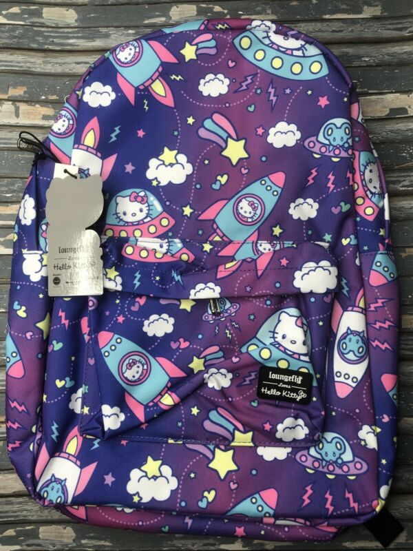 Loungefly Hello Kitty Space Rocket Backpack