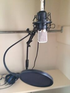 Mic with Filter comes with stand 150$