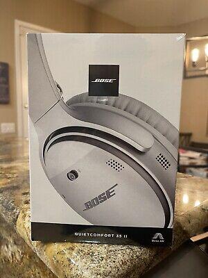 Bose QuietComfort 35 QC35 Series II Wireless Noise-Cancelling Headphones-Silver