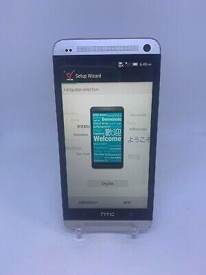 HTC One M7 - HTC6500L - 32GB - Silver - (Verizon Wireless) - WORKS GREAT