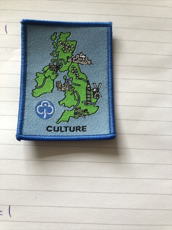 Girl Guiding Obsolete Guide Culture Badge
