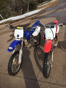 Yamaha TTR 125 AND Honda XR100R
