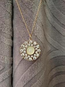 Necklace | Gold chain | Lime coloured | Lovisa | Vintage East Melbourne Melbourne City Preview