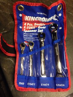 Kincrome ETorx ratchet spanners Wynnum West Brisbane South East Preview