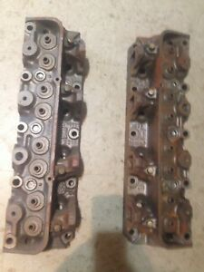 Pair of Ford 428 Heads Big Block Mustang