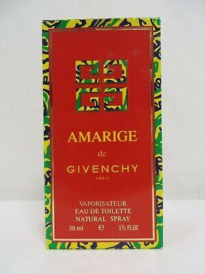 Amarige de Givenchy Eau de Toilette Natural Spray - 50ml - New unsealed