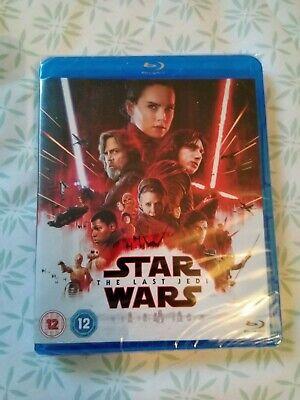 NEW - Star Wars - The Last Jedi blu-ray new sealed