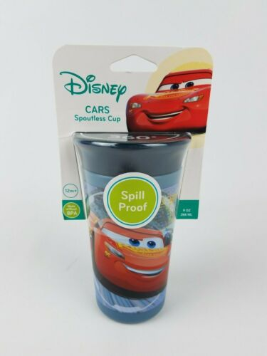 The First Years Disney Pixar Cars Spoutless Cup Spill Proof 9 oz