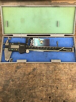 Mitutoyo Digimatic Absolute Micrometer Model 500-196 Cd-6 Cs Used With Case