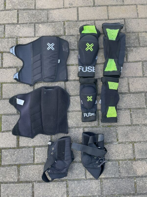 Fuse Omega Full Pads Set - Medium Large