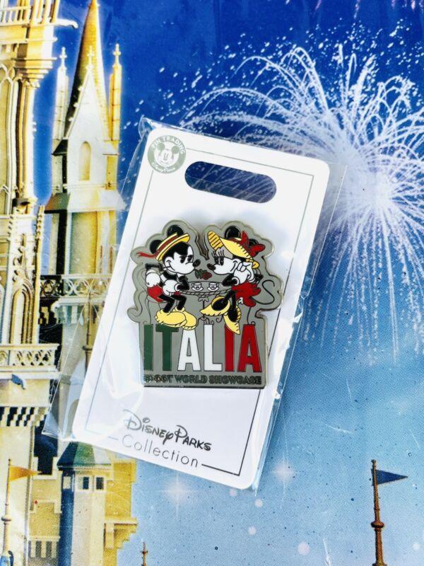 2021 Disney Parks Epcot World Showcase Pin Italy Italia Mickey Minnie Mouse