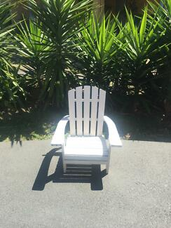 Childrenu0027s Hampton Style Deck Chair White Part 48