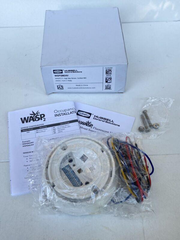Hubbell WSPSM24V WASP2 High Bay Sensor, Surface Mount 24VDC
