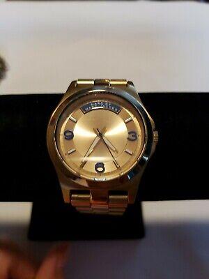 Marc Jacobs Gold & Blue Watch MBM3162