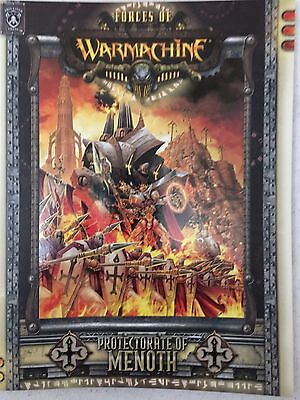 Forces of Warmachine: Protectorate of Menoth paperback