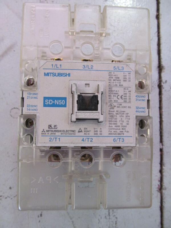 Mitsubishi SD-N50 Contactor