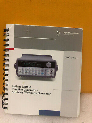 Agilent 33120-90005 Function Generator Waveform Generator Service Guide