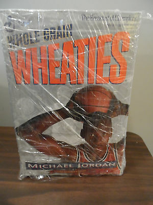 Whole Grain Wheaties Michael Jordan Cereal Box Brand New Never Opened