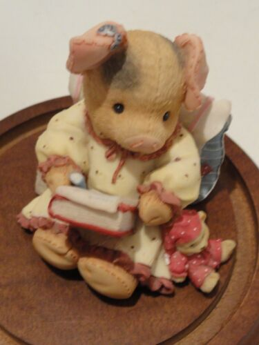 VTG TLP This Little Piggy *DEAR FRIEND SOW HOW ARE YOU* 1996 edition by Enesco~