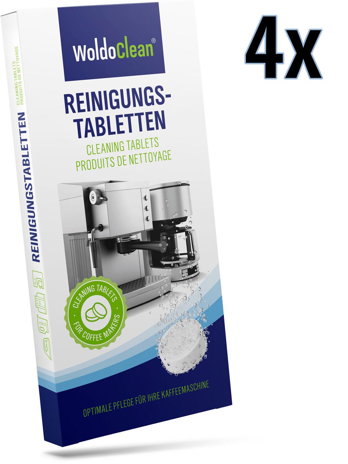 Reinigungstabletten Kaffeevollautomaten kompatibel mit Krups Siemens Melitta
