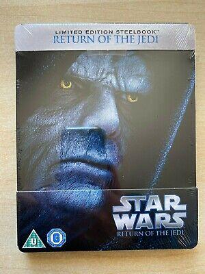 Star Wars: Return Of The Jedi Blu-Ray Steelbook. New. Sealed