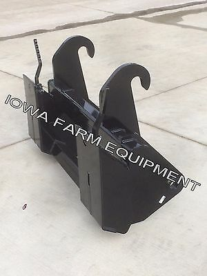 Jcb 2102122143cx4cx Tractor Loader Backhoe Skid Steer Quick Attach Adapter