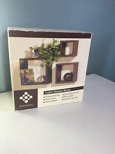 New in Box Bowring Wall Boxes