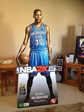 Kevin Durant NBA 2K15 life size cardboard cut out Port Macquarie Port Macquarie City Preview