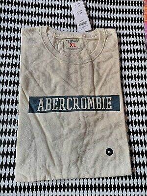 ABERCROMBIE AND FITCH MENS TSHIRT XL