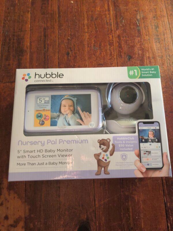 "Hubble Nursery Pal Deluxe, 5"" Smart HD Baby Monitor w/Touch Screen"