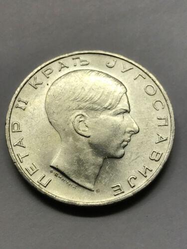 1938 Yugoslavia 50 Dinara Silver CH. Unc. #9439