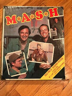 Vintage MASH 150 piece puzzle (1976) HG Toys