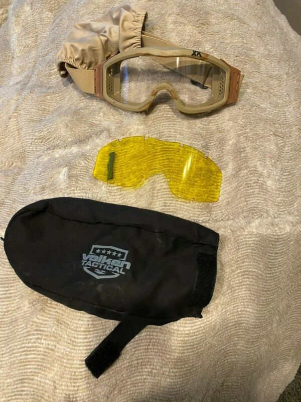 Valken Tactical Goggles barely used