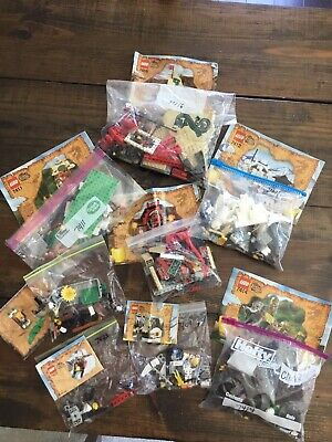 Lego Orient Expedition Lot - 7409, 7410, 7411, 7412, 7413, 7414, 7416, 7423