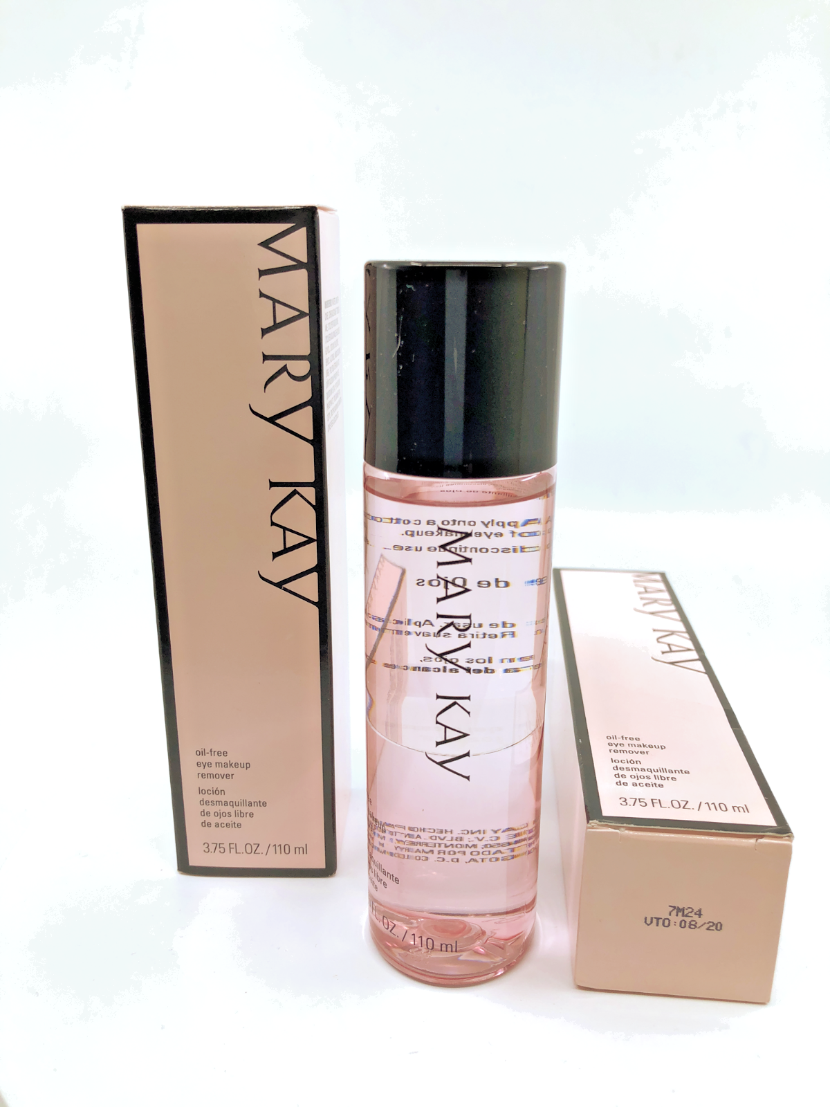 Mary Kay Oil-Free Eye Makeup Remover 3.75 fl. oz. FREE SHIPP
