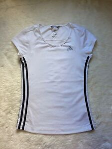 Adidas XS Workout top - White, hardly worn, EUC Ringwood East Maroondah Area Preview