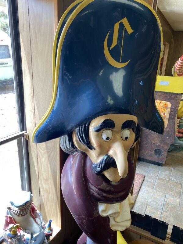 Vintage Captain Crook Statue