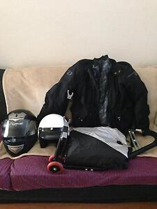 HELMETS + PRO JACKET + BIKE STAND VERY GOOD CONDITION Osborne Park Stirling Area Preview